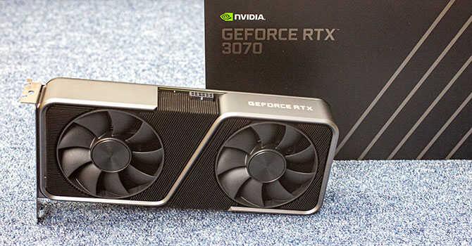 Nvidia GeForce RTX 3070 : recensione, prezzo in offerta